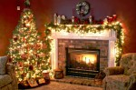 Christmas-Tree-and-Fireplace