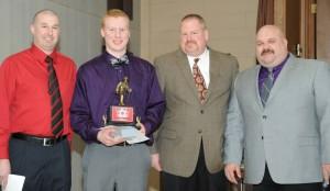 2014 Chiefs Award Winner Zach Shumberger